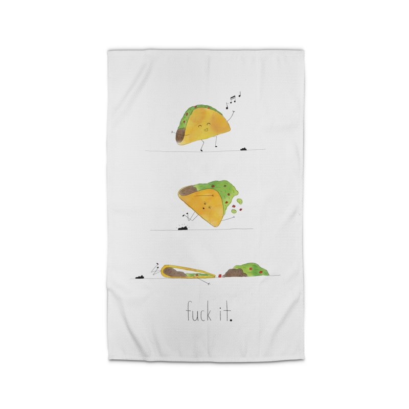 F it Taco Home Rug by Hello Happiness!