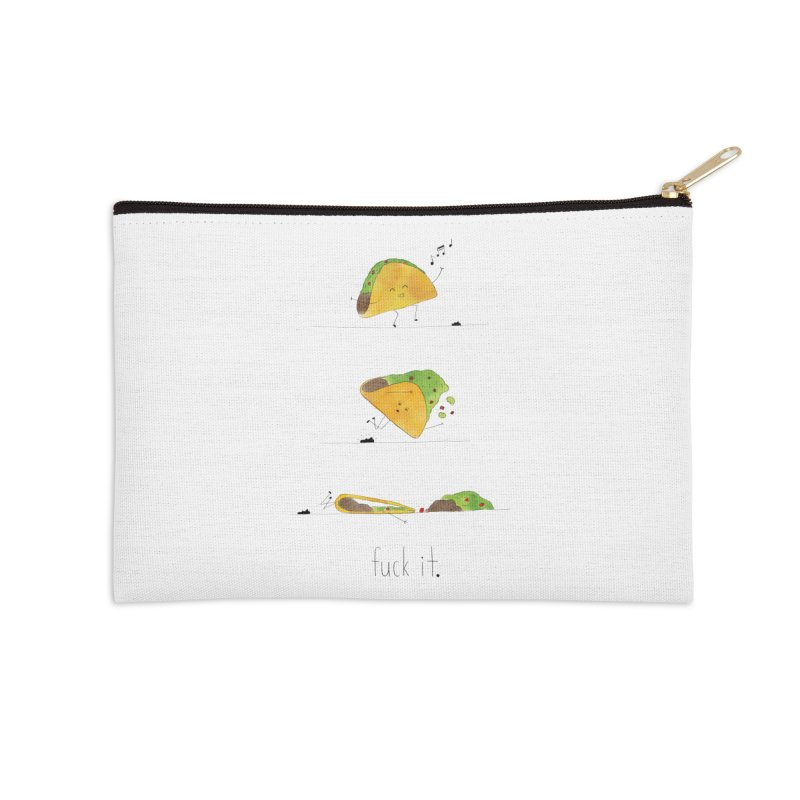 F it Taco Accessories Zip Pouch by Hello Happiness!