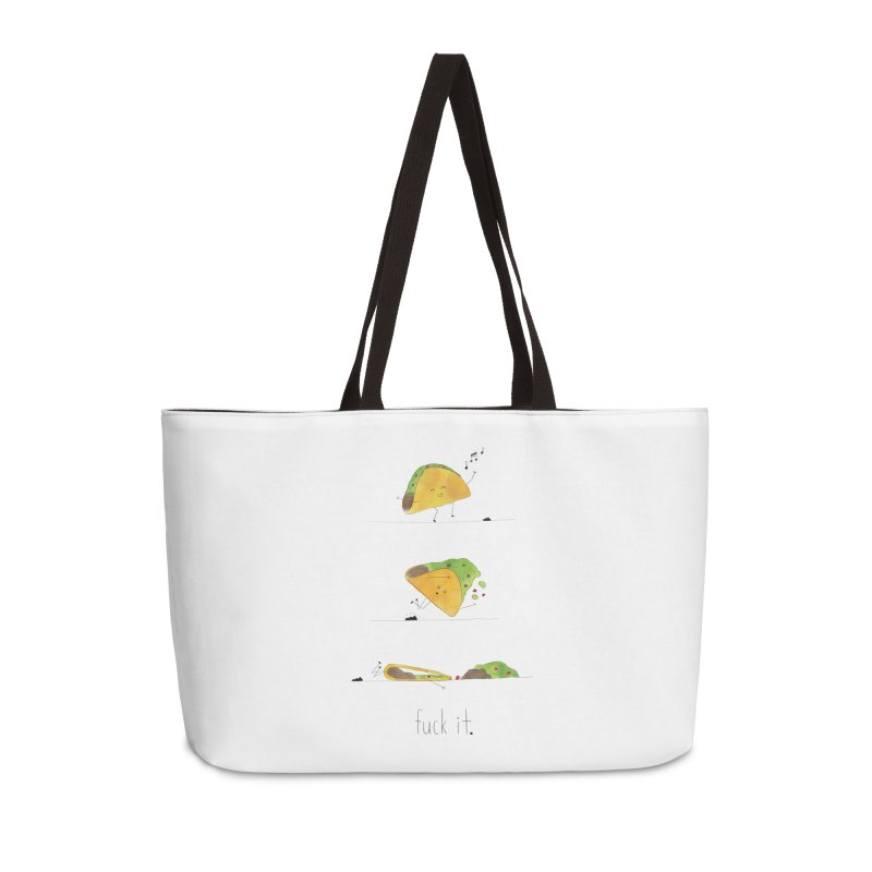F it Taco Accessories Weekender Bag Bag by Hello Happiness!