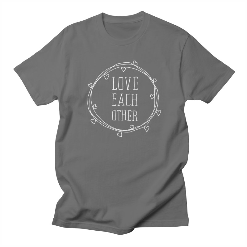 Love Each Other Men's T-Shirt by Hello Happiness!