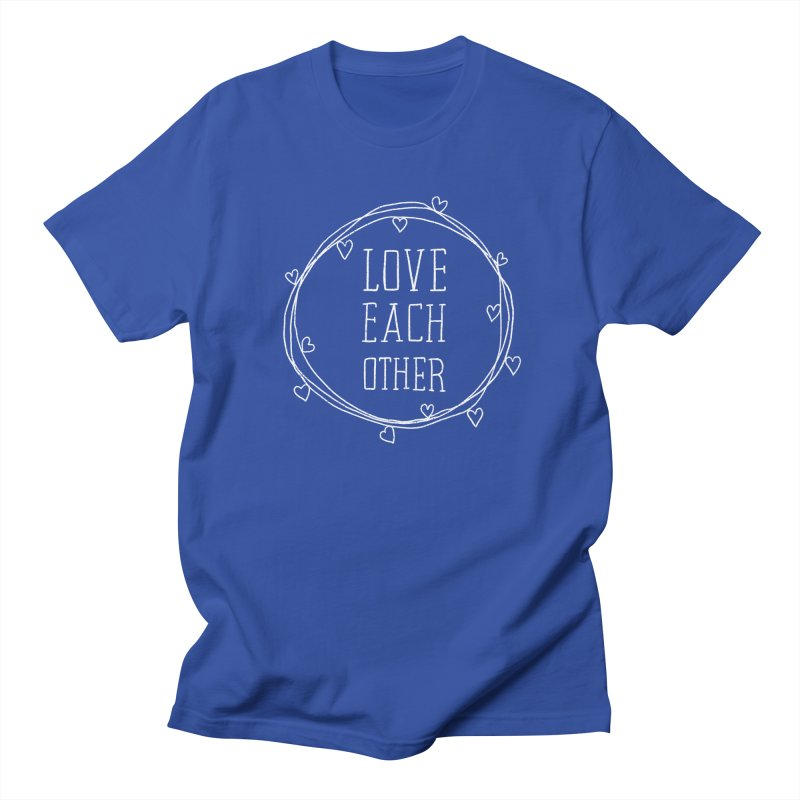 Love Each Other Women's Regular Unisex T-Shirt by Hello Happiness!