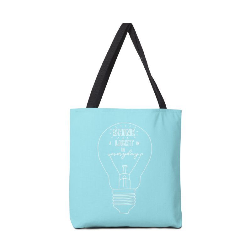 Shine a Light Accessories Tote Bag Bag by Hello Happiness!