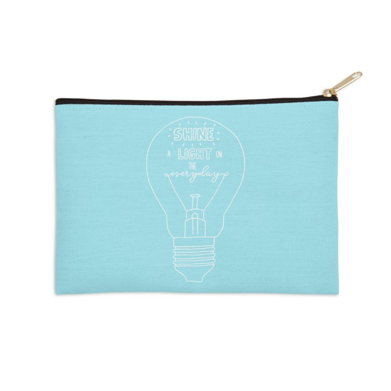 Shine a Light Accessories Zip Pouch by Hello Happiness!
