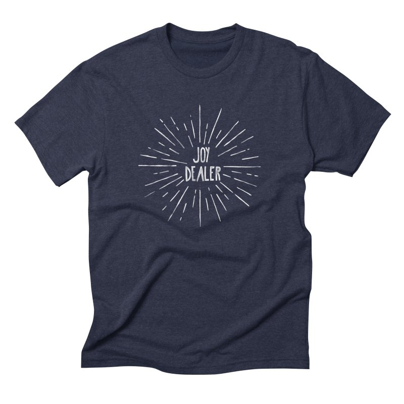 Joy Dealer Men's Triblend T-Shirt by Hello Happiness!