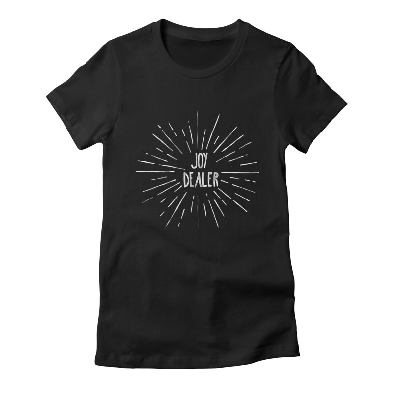 Joy Dealer Women's Fitted T-Shirt by Hello Happiness!