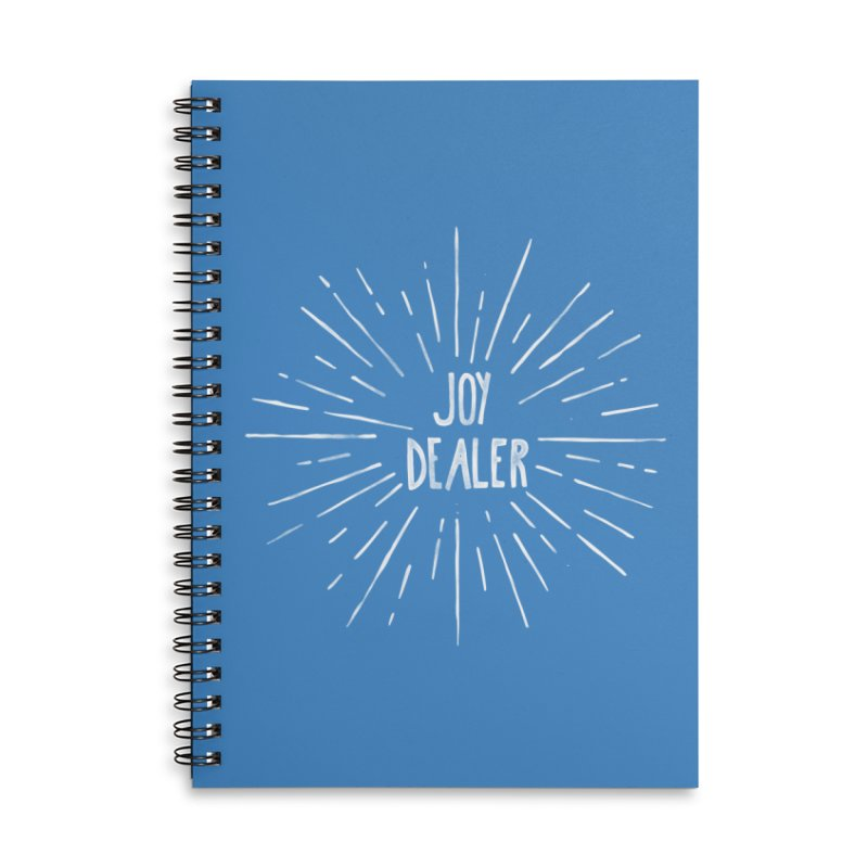Joy Dealer Accessories Lined Spiral Notebook by Hello Happiness!