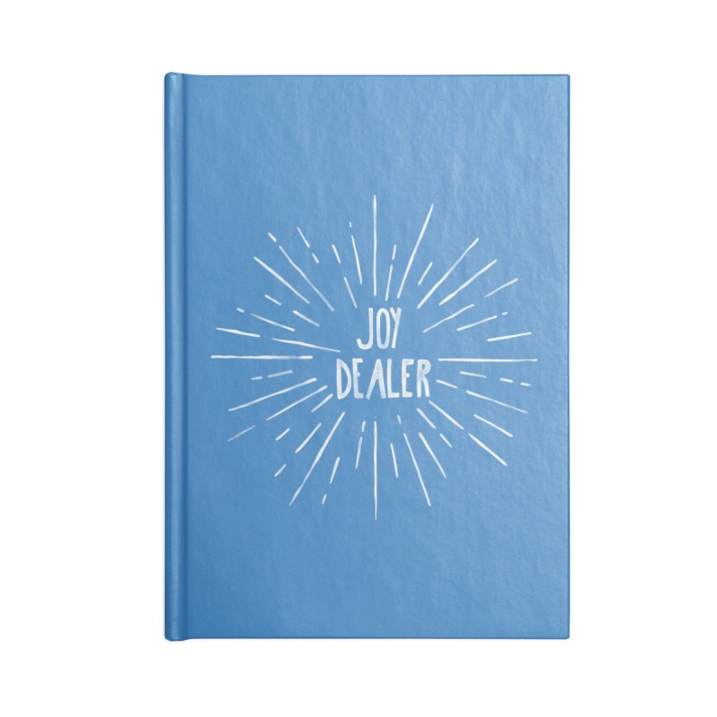 Joy Dealer Accessories Blank Journal Notebook by Hello Happiness!