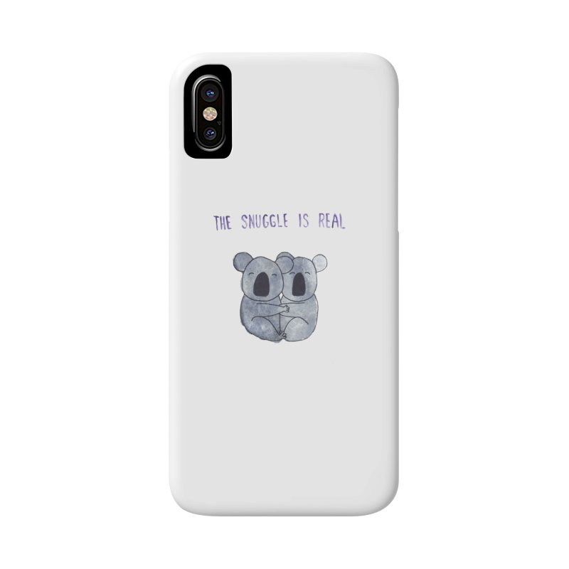The Snuggle is Real Accessories Phone Case by Hello Happiness!