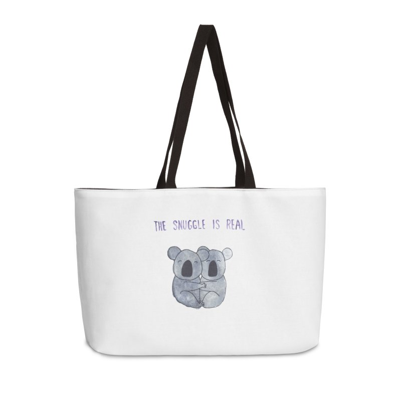 The Snuggle is Real Accessories Weekender Bag Bag by Hello Happiness!