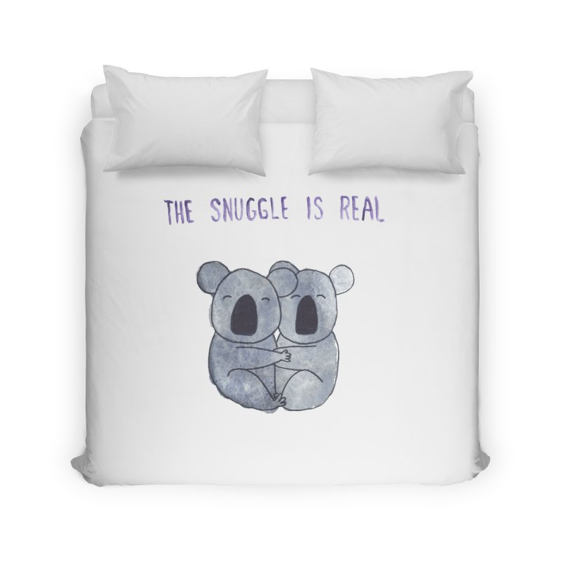 The Snuggle is Real Home Duvet by Hello Happiness!