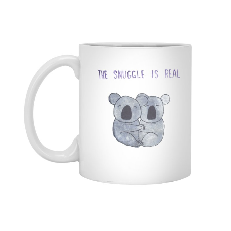 The Snuggle is Real Accessories Standard Mug by Hello Happiness!