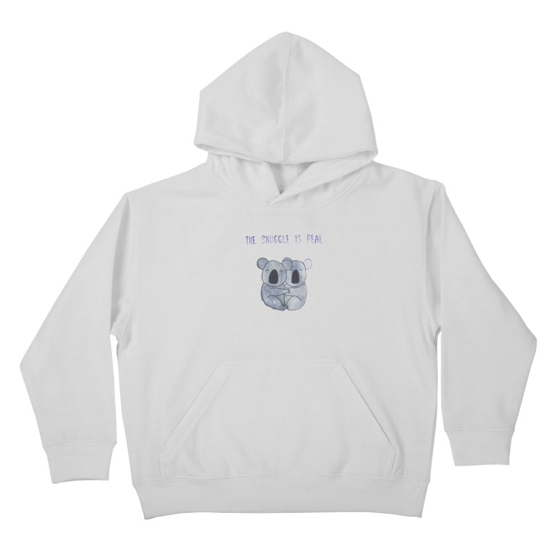 The Snuggle is Real Kids Pullover Hoody by Hello Happiness!