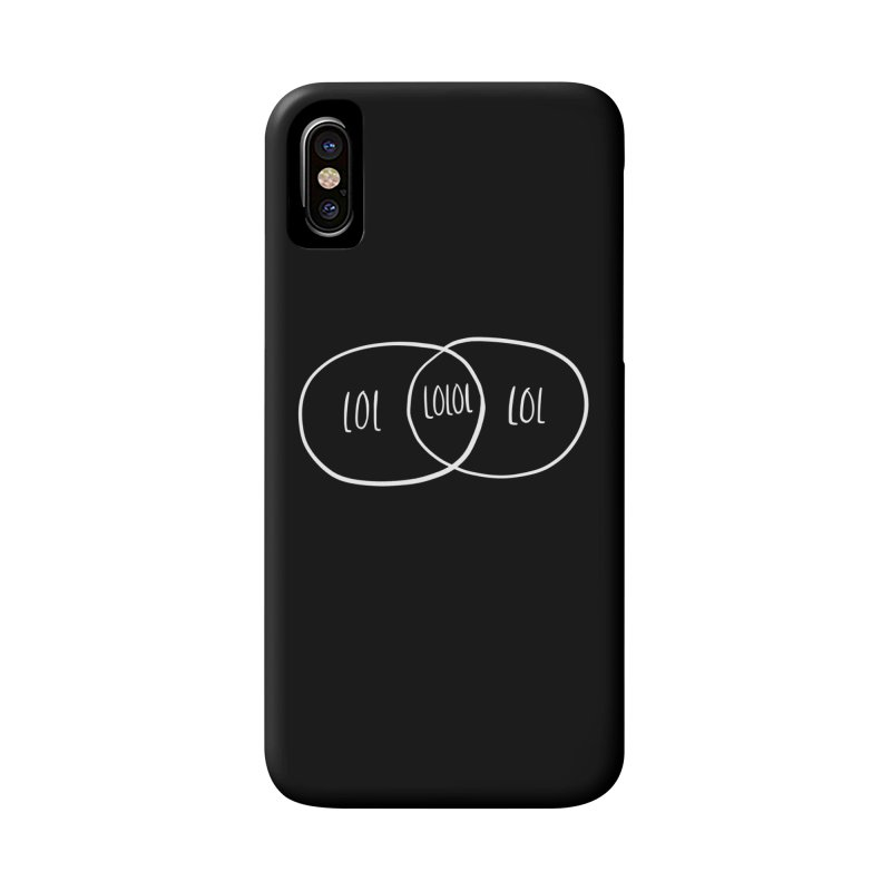 LOLOL Accessories Phone Case by Hello Happiness!