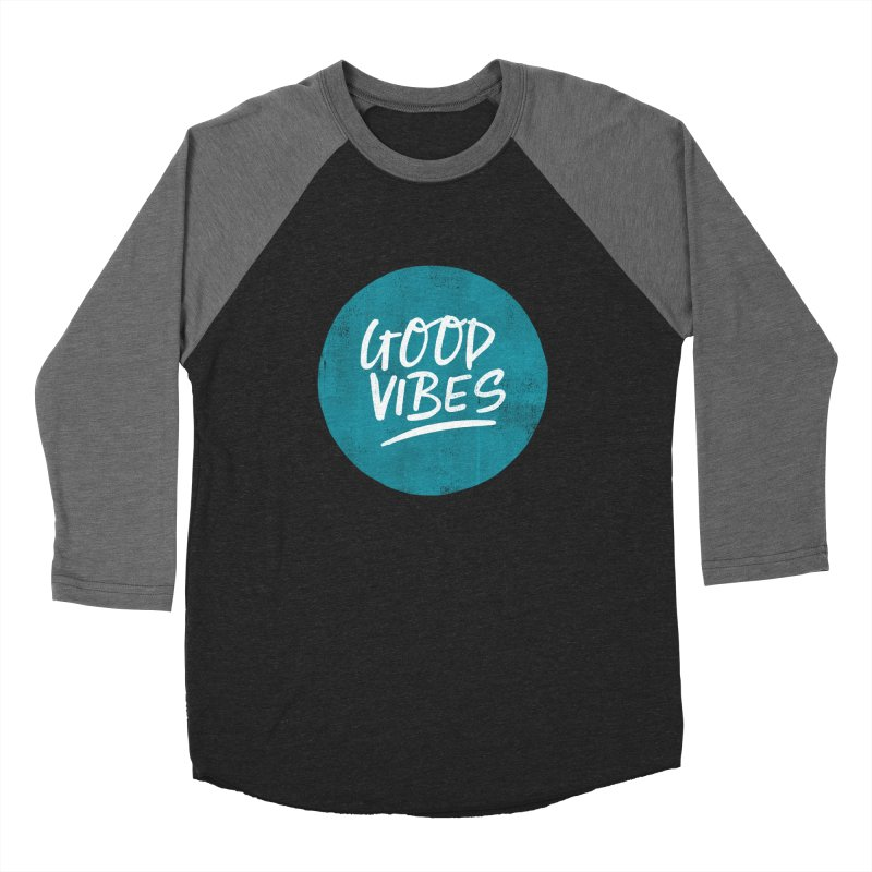 Good Vibes Women's Longsleeve T-Shirt by Hello Happiness!