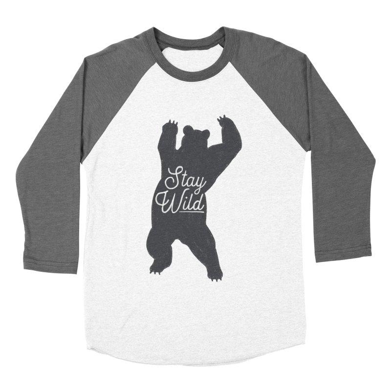 Stay Wild Women's Longsleeve T-Shirt by Hello Happiness!