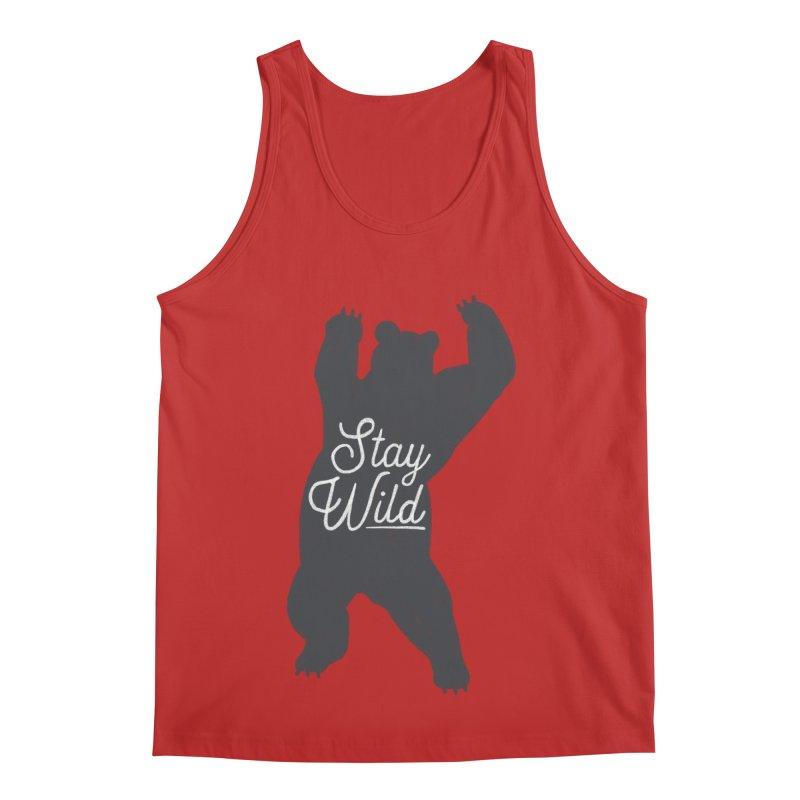 Stay Wild Men's Regular Tank by Hello Happiness!