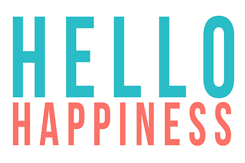 Hello Happiness! Logo