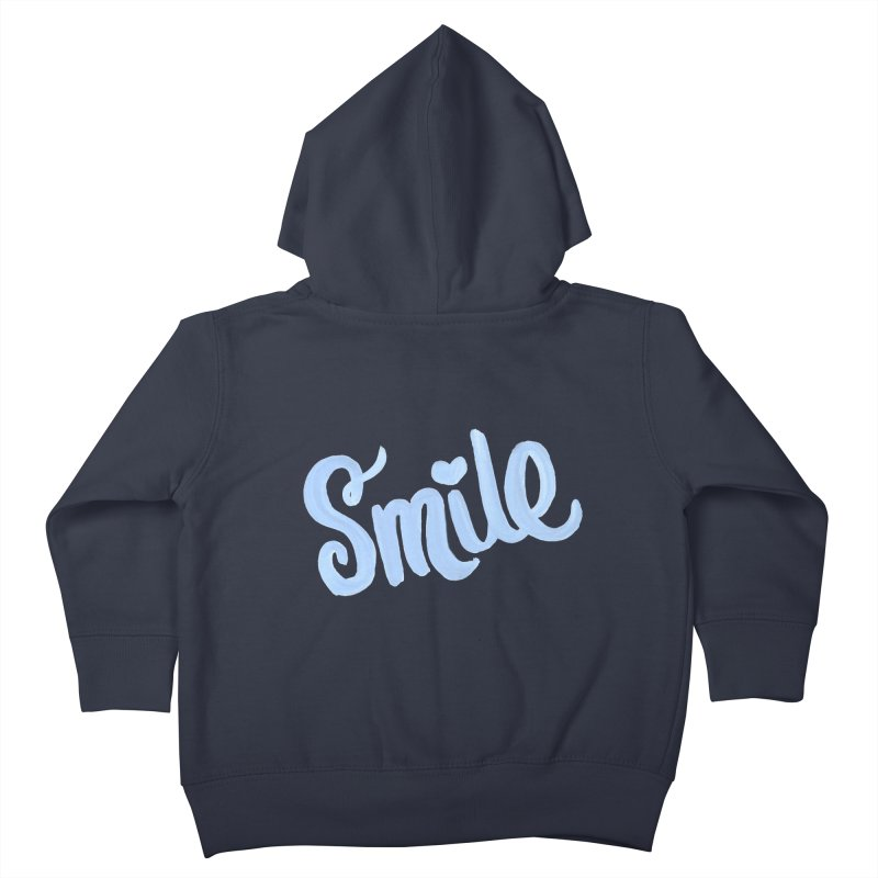blue smile Kids Toddler Zip-Up Hoody by MIREYA