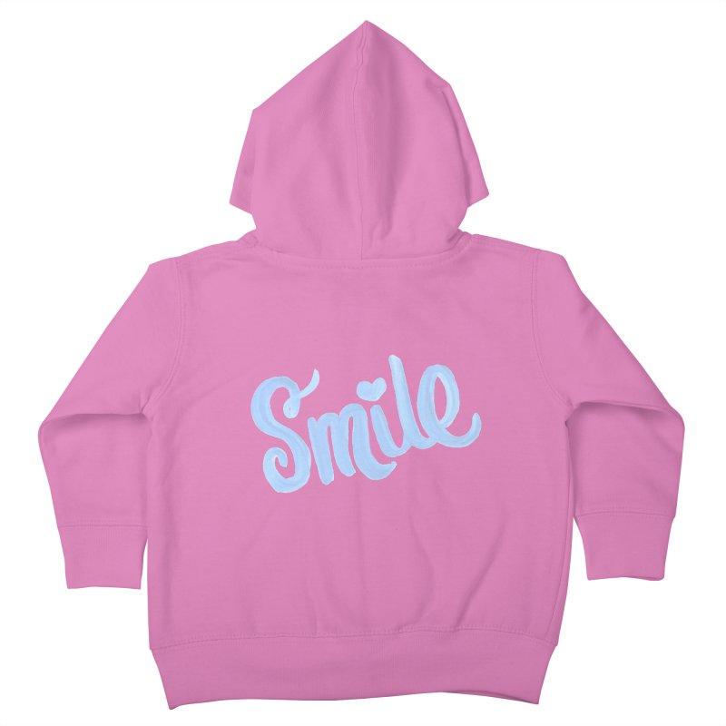 blue smile Kids Toddler Zip-Up Hoody by MIREYA