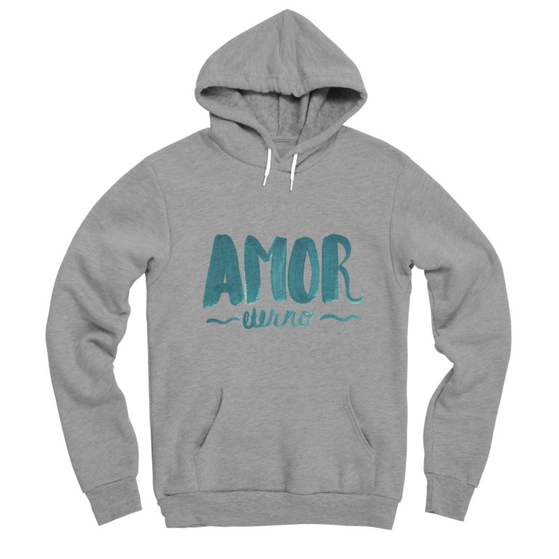 Amor Eterno Women's Sponge Fleece Pullover Hoody by MIREYA