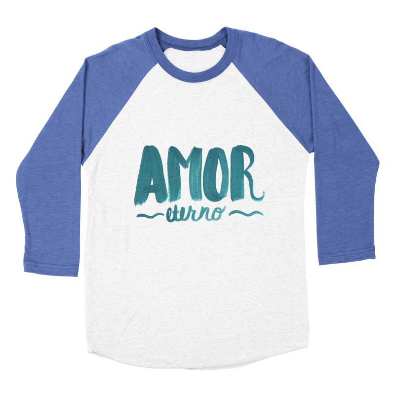 Amor Eterno Women's Baseball Triblend Longsleeve T-Shirt by MIREYA