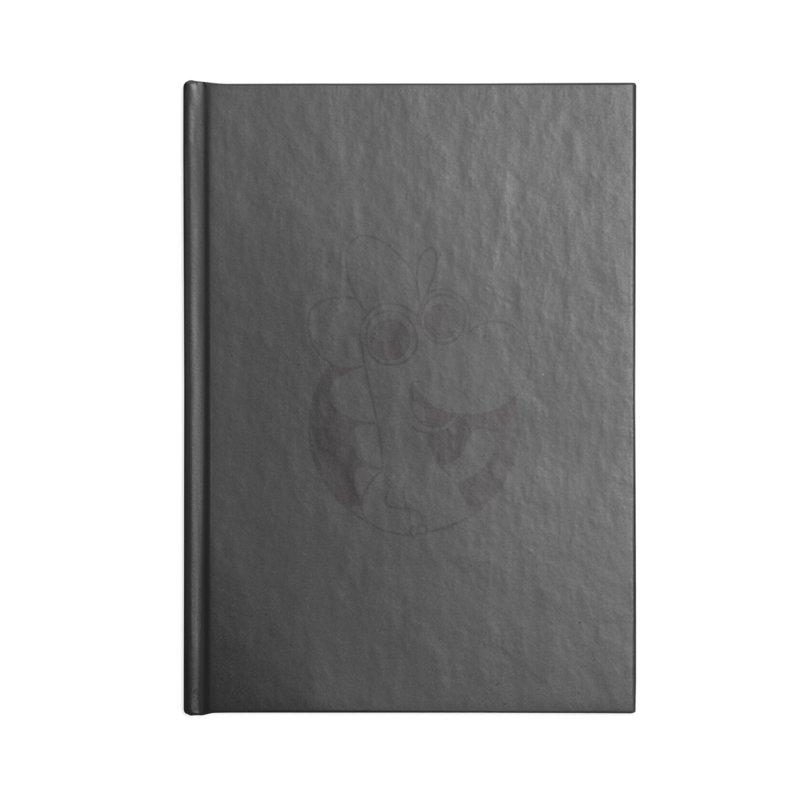 Black Dino Accessories Notebook by Hellosaurus Swag