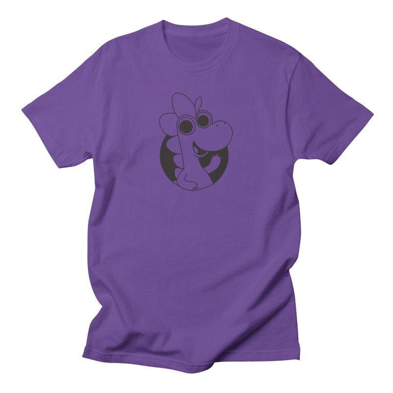 Black Dino Women's T-Shirt by Hellosaurus Swag