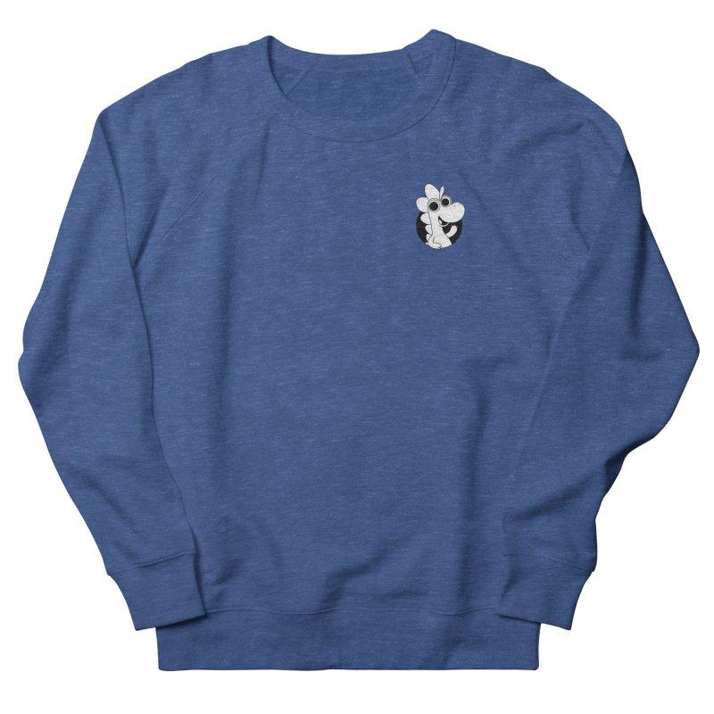 Black & White Dino - Pocket Men's Sweatshirt by Hellosaurus Swag