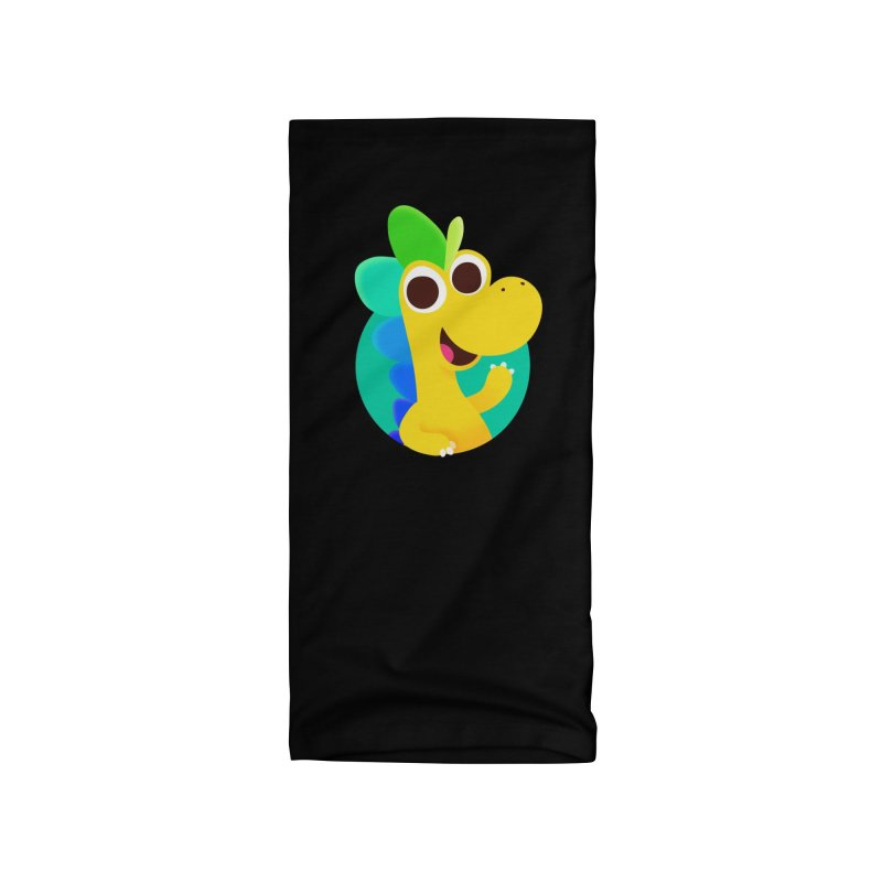 Color Dino Accessories Neck Gaiter by Hellosaurus Swag