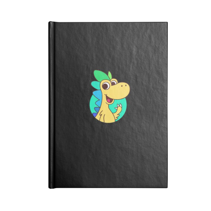 Color Dino Accessories Notebook by Hellosaurus Swag