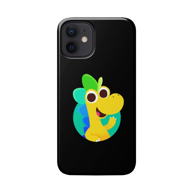 Color Dino Accessories Phone Case by Hellosaurus Swag