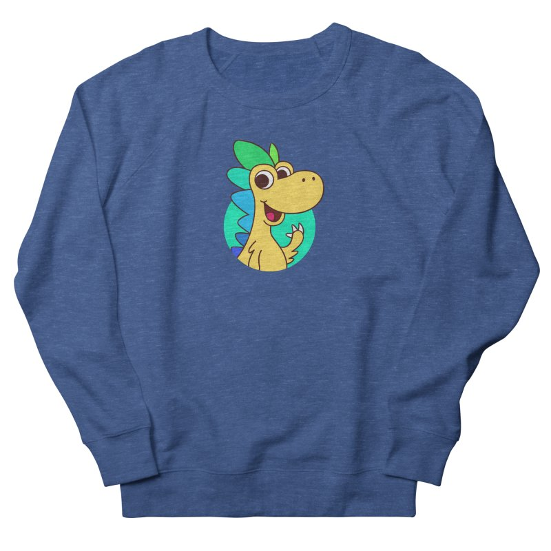 Color Dino Men's Sweatshirt by Hellosaurus Swag