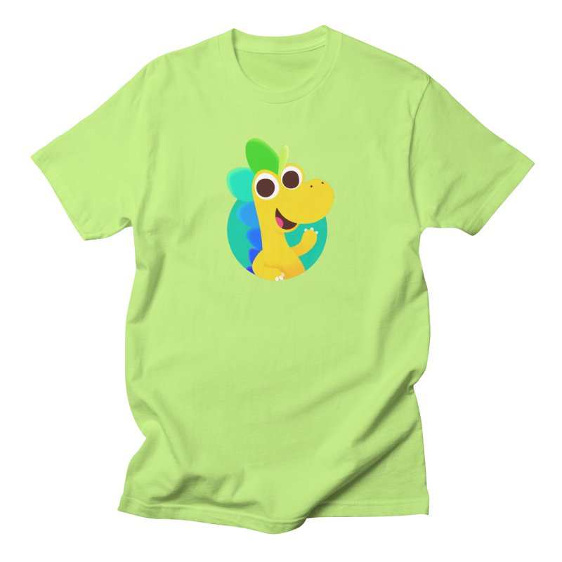 Color Dino Men's T-Shirt by Hellosaurus Swag
