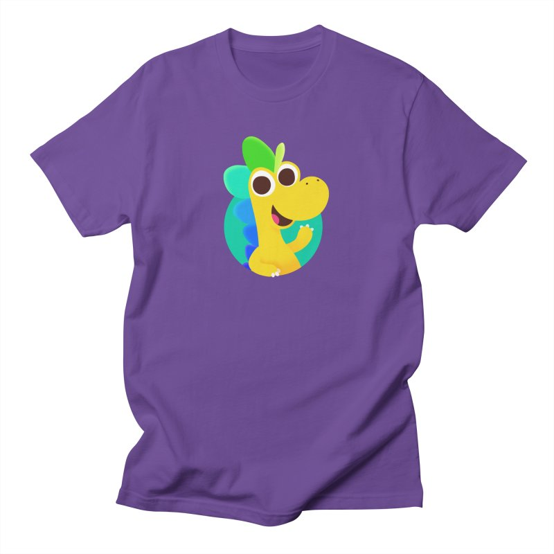 Color Dino Women's T-Shirt by Hellosaurus Swag