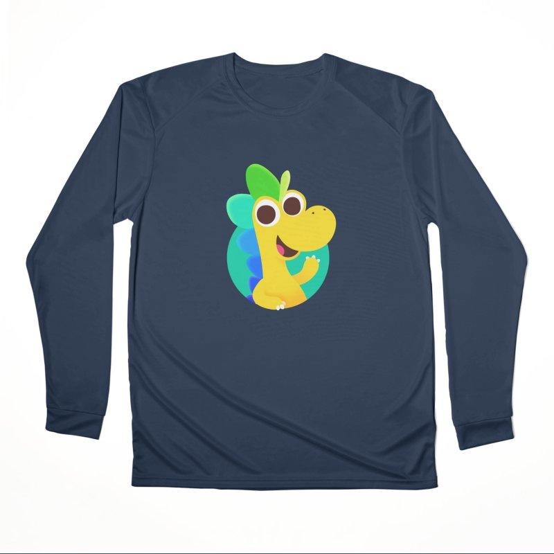 Color Dino Women's Longsleeve T-Shirt by Hellosaurus Swag