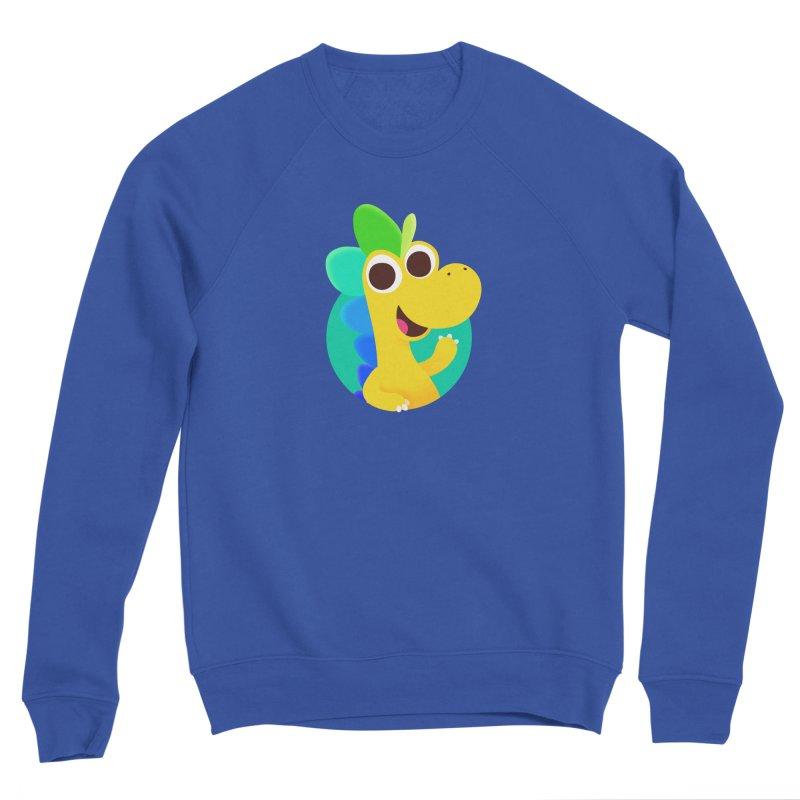 Color Dino Men's Sweatshirt by Hellosaurus Swag
