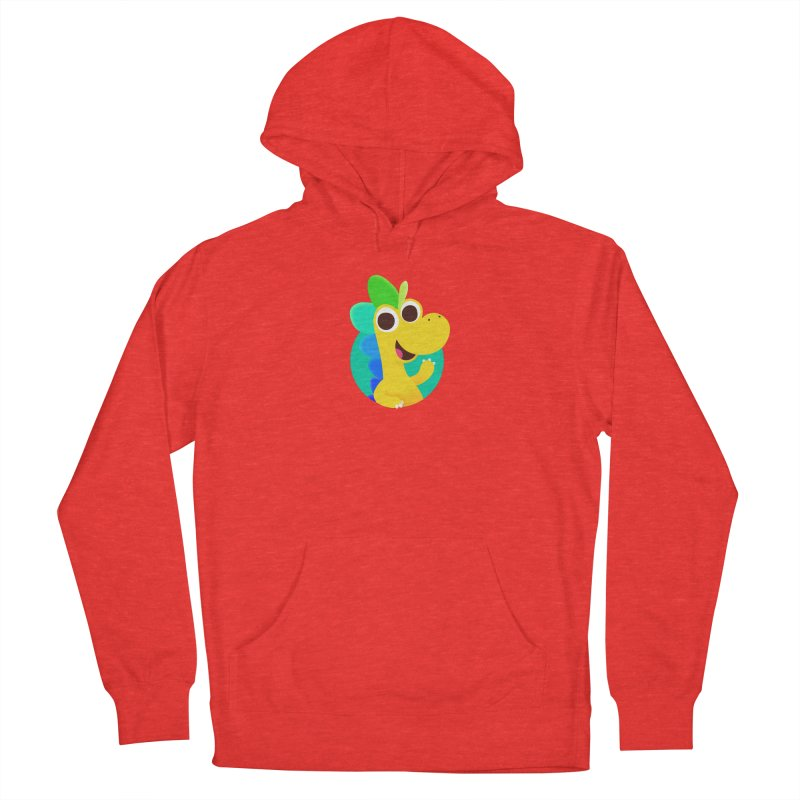 Color Dino Women's Pullover Hoody by Hellosaurus Swag
