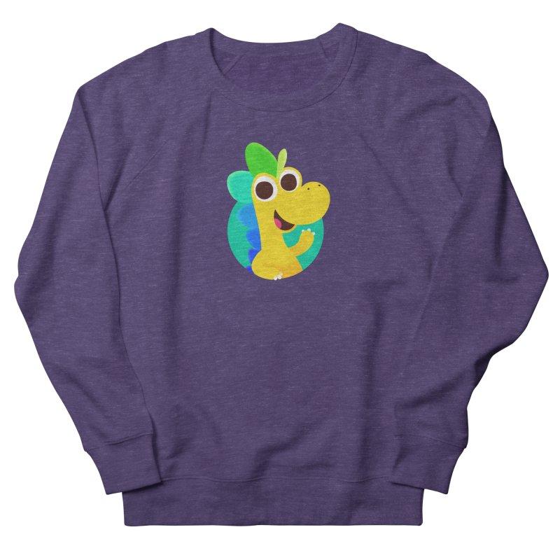 Color Dino Women's Sweatshirt by Hellosaurus Swag