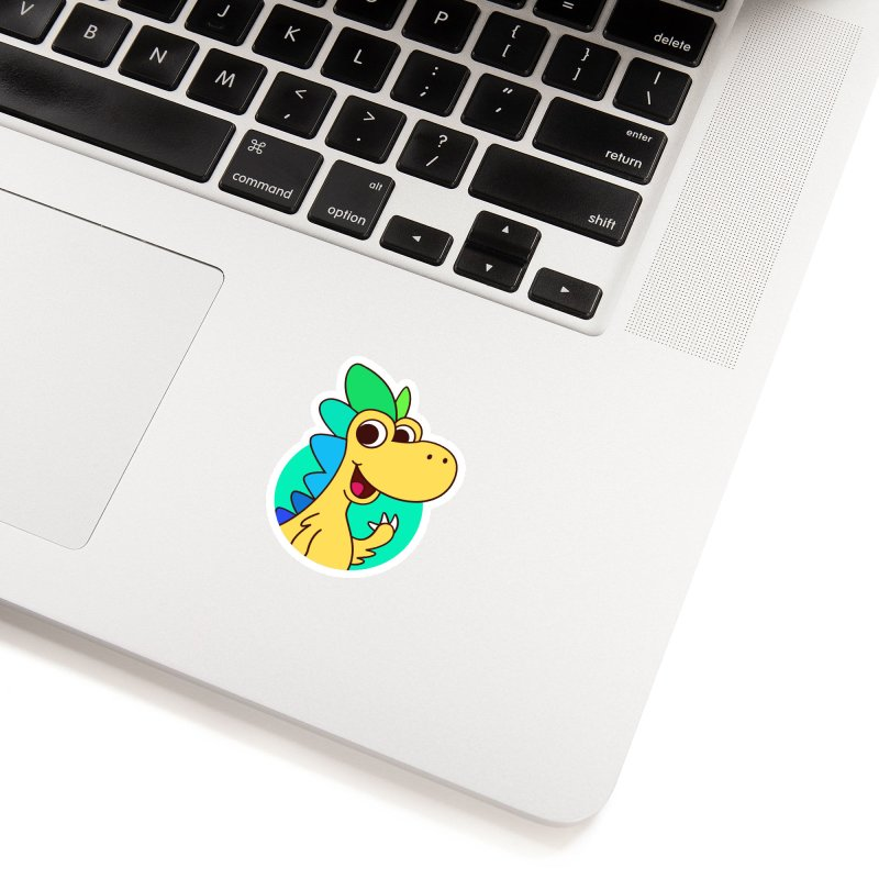 Color Dino Accessories Sticker by Hellosaurus Swag
