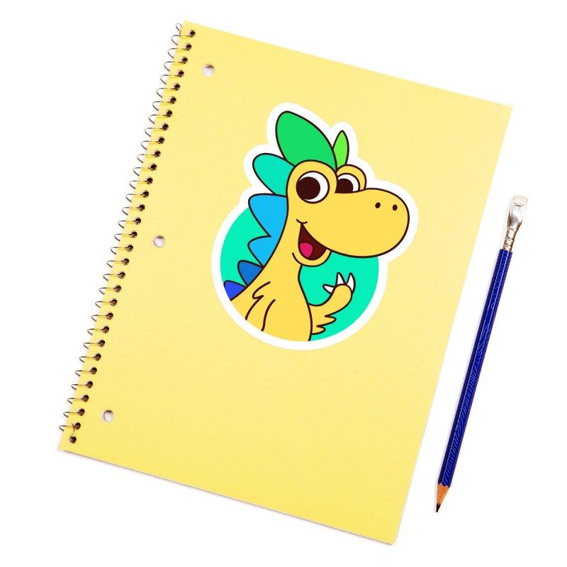 Color Dino Accessories Sticker by Hellosaurus Swag