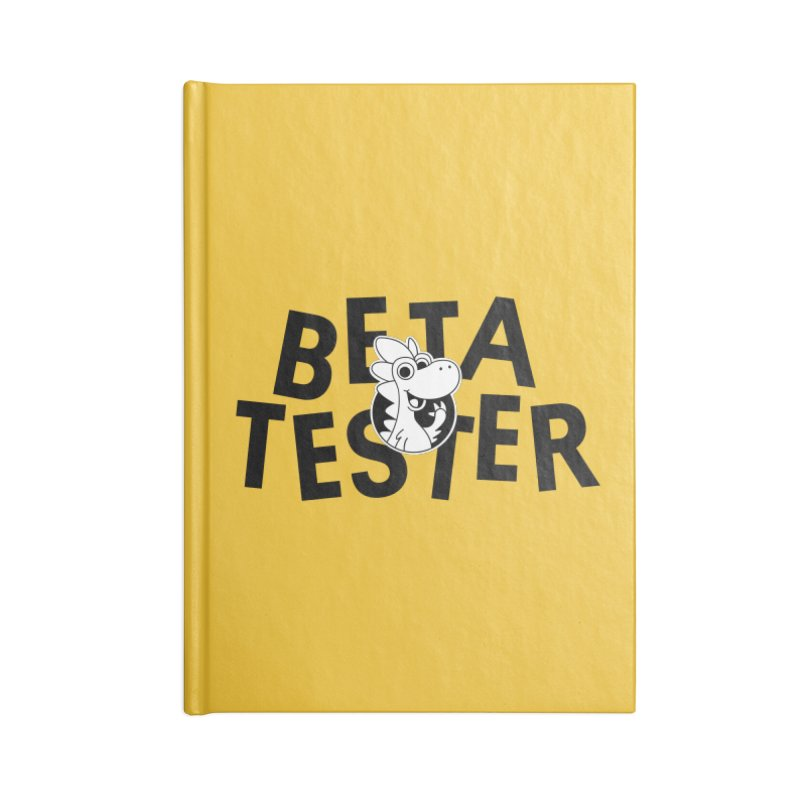 Betasaurus Accessories Notebook by Hellosaurus Swag