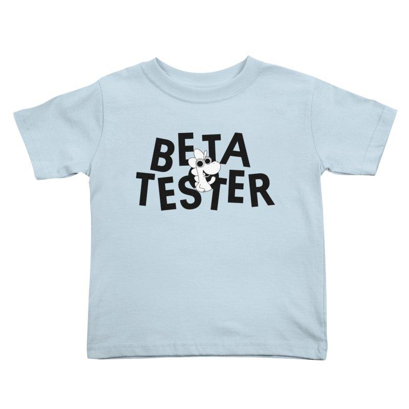Betasaurus Kids Toddler T-Shirt by Hellosaurus Swag