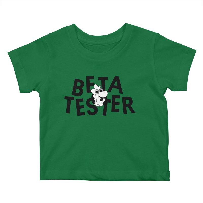 Betasaurus Kids Baby T-Shirt by Hellosaurus Swag