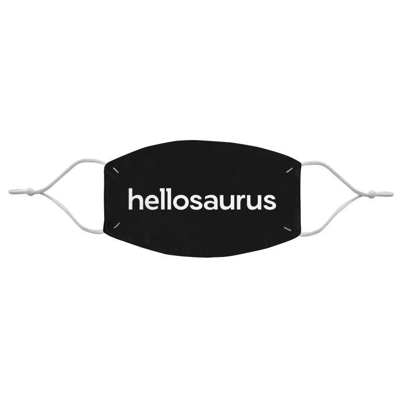 Hellosaurus Accessories Face Mask by Hellosaurus Swag