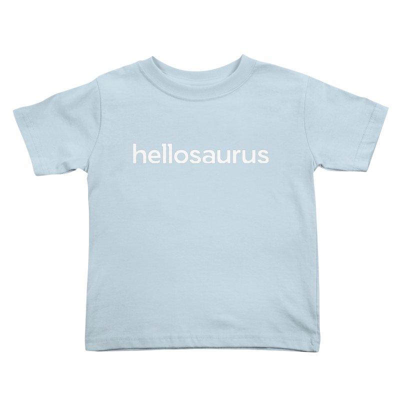 Kids None by Hellosaurus Swag