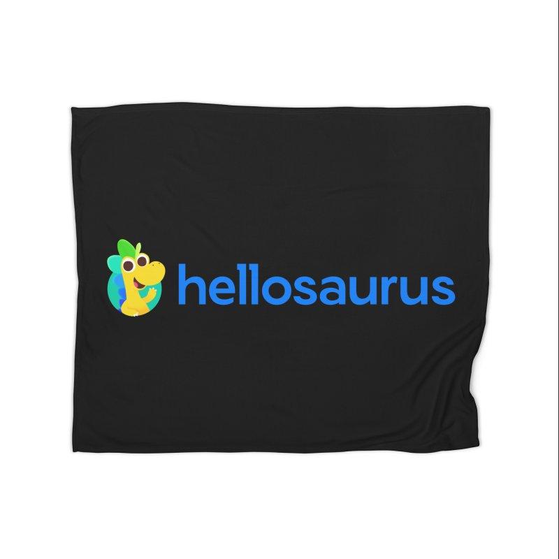 Full Hellosaurus Logo Home Blanket by Hellosaurus Swag