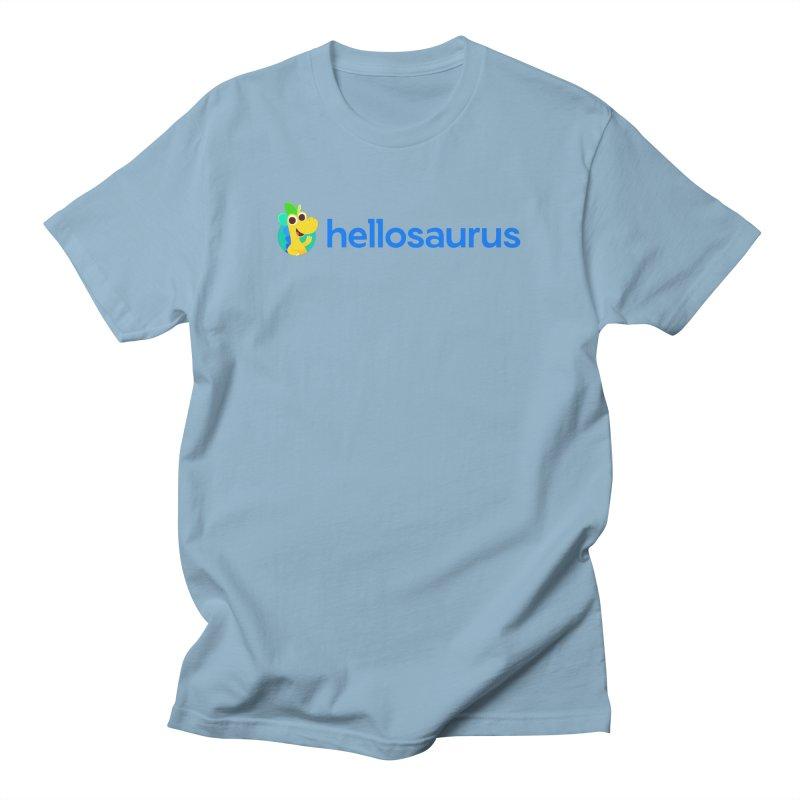 Full Hellosaurus Logo Men's T-Shirt by Hellosaurus Swag