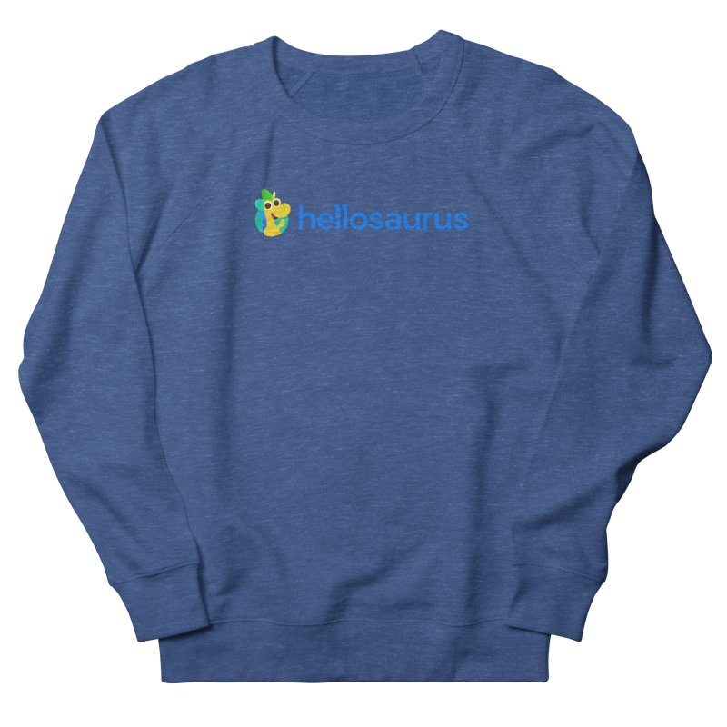 Full Hellosaurus Logo Women's Sweatshirt by Hellosaurus Swag