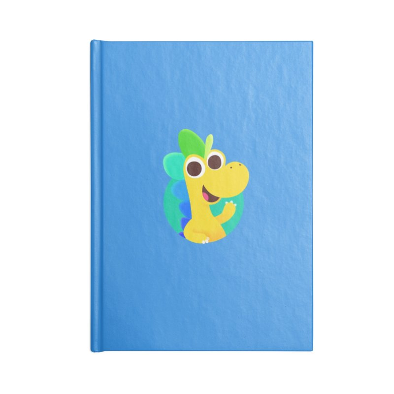 Color Dino - Pocket Accessories Notebook by Hellosaurus Swag