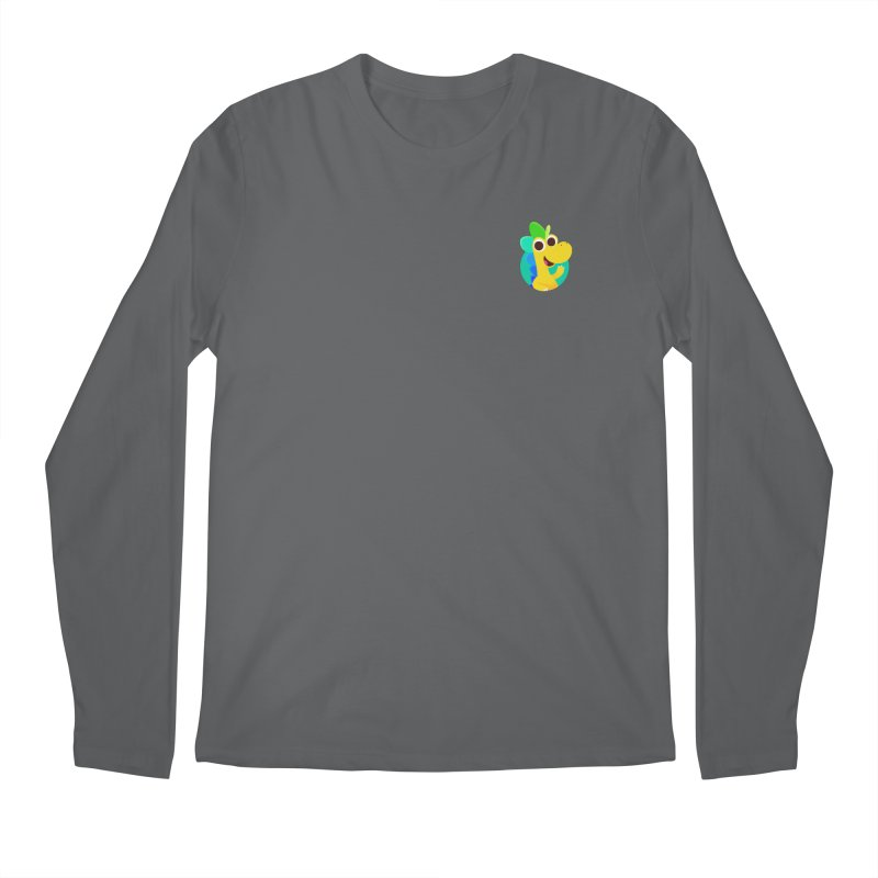 Color Dino - Pocket Men's Longsleeve T-Shirt by Hellosaurus Swag